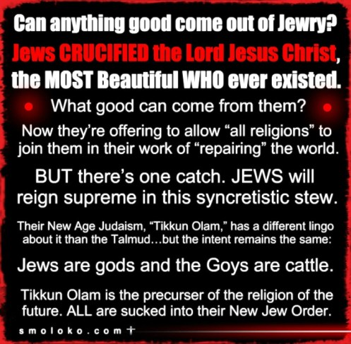 JewsOneWorldReligionMeme